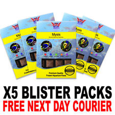 Frozen Fish Food 100g BCUK Blister packs Mysis x5 FREE P&P