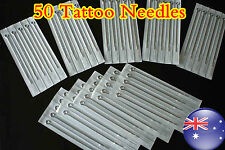 50 x Assorted szie Tattoo Needle  OZ STOCK