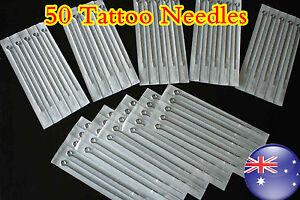 50 x Assorted szie Tattoo Needle  OZ STOCK