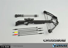 "ZY Toys 1/6 Scale Weapon Model Hunting Recurve Crossbow Arrow F 12"" Figure"
