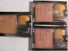Maybelline Fit Me Blush Pressed Powder - Deep Coral Lot of 3