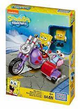 Mega Bloks SpongeBob SquarePants Bike Racer Playset 85pcs