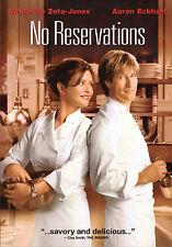 No Reservations (DVD, 2008) Catherine Zeta-Jones, Aaron Eckhart, Cooking Comedy