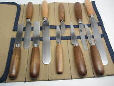 Murphy Shoe Knife Leather Cutting Skiving Knife Set 10pc Leather Trim Edge Cut