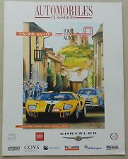 Tour Auto 2002 Programm no press brochure prospekt depliant buch book ferrari