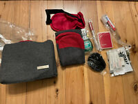 American Airlines Business Travel Kit, Amenities Bag of Travel Toiletries New