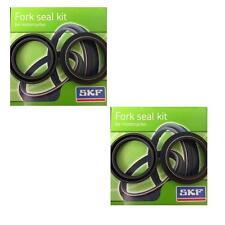 SKF Black Fork Seal Kits for Kawasaki Suz Yamaha Kayaba KYB 41mm 2-KITB-41K