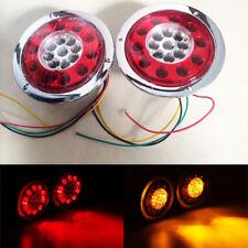 4.3'' Runde 19 LED-Lkw-Anhänger LKW Bremslicht Stop drehen Rücklicht Signallicht