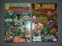 Super-Villain Team-Up #1 Marvel 1975 Dr Doom and The Masters Of Evil #1