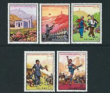 CHINA PRC 1972 YENAN FORUM (Scott 1084-87 1089 short one value) VF MNH