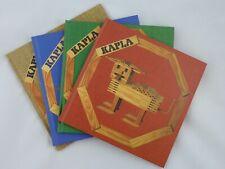 KAPLA Bücher - Konstruktionen zum Nachbauen für Anfänger bis Fortgeschrittene