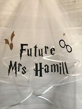 Personalised Veil HARRY POTTER Hen Do Bride Wedding Party Fast Dispatch Free P&P