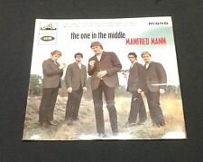 1965 MANFRED MANN The One In The Middle +3 45 UK EP w/ PC laminated mono 8909