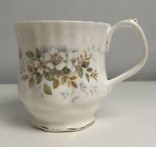 Vintage Royal Albert Bone China 'Haworth' Coffee Cup - Autumn Floral Design