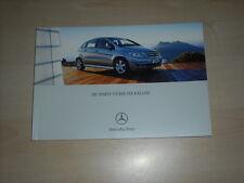 49057) Mercedes B-Klasse Prospekt 03/2005