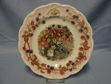 Jill Barklem Royal Doulton Brambly Hedge Collector Plate - Autumn