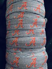 University Alabama Crimson Tide Foldover Football Elastic FOE Hair Tie Bow 50Y