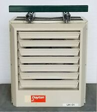 Dayton 2YU73 Electric Wall & Ceiling Unit Heater 480V 3Ph 15.0 kW