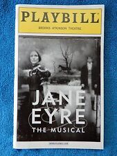 Jane Eyre - Brooks Atkinson Theatre Playbill w/Ticket - May 19th, 2001 - Barbour