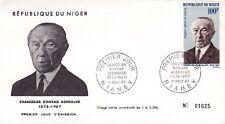 ENVELOPPE  1ER JOUR - NIGER- 1967