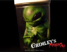 Green Alien Embryo Specimen in a Jar Latex Prop Horror Roswell UFO ET Sci-fi