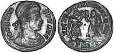 CONSTANS 347-348 AD Æ Roman Bronze Nummus Coin Victories Siscia