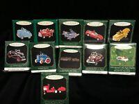 11 Kiddie Car Classic & Luxury Editions, Tractors ~ Hallmark Miniature Ornaments