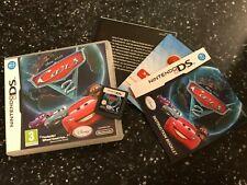 NINTENDO DS DSL DSi GAME DISNEY PIXAR CARS 2 +BOX & INSTRUCTIONS COMPLETE