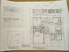 Custom Home Plan 1719 A/C Sq. Ft. 1 Story 4 Bed 2 Bath 2 Car Garage 2452 TOTAL