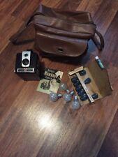 """Vintage 1950""""s Eastman KODAK Brownie HAWKEYE Flash Model Box Camera"""