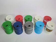 Playmobil Ölfass Tonne Fass verschiedene Farben möglich V2 10 Stück