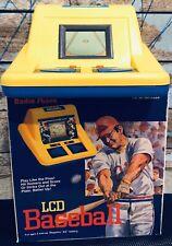 LCD BASEBALL VINTAGE RADIO SHACK TRAVEL PORTABLE Tabletop ARCADE GAME Retro Fun
