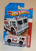 2011 Hot Wheels Thrill Racers Raceway 11 #222 Fire Eater White New