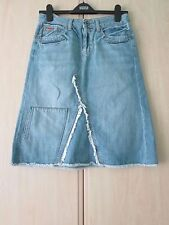 Denim Petite A-line Casual Skirts for Women
