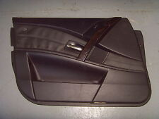 BMW 5 SERIES E60 LEATHER DOOR CARD N/S/F (LEFT, FRONT).