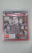 Sleeping Dogs (Essentials) PS3 Game (New and Sealed)