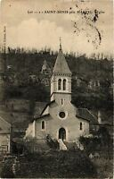 CPA  Lot - Saint-Denis prés Martel - L'Eglise     (654095)