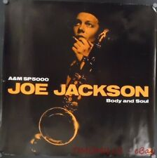 1984 Joe Jackson Body and Soul A&M SP-5000 Record Store Promo Poster Vintage VG