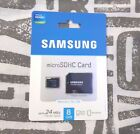 *UK* Genuine SAMSUNG 8GB Micro SD SDHC memory card 4 galaxy s8 phones & adapter