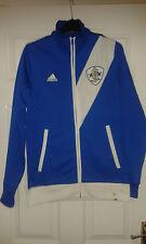 Mens Jacket - Praia Do Samba FC - Adidas - Brazil Club - Blue & White - Size S