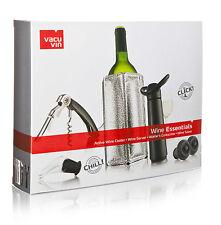 Vacu Vin Wine Essentials Gift Set - Black