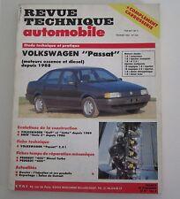 Revue technique  RTA 524 volkswagen passat essence & diesel depuis 1988