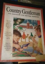 Vintage December 1954 COUNTRY GENTLEMAN Magazine 104pp Nice adverising