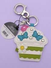 Brighton Leather SWEET CAKES Cupcake Handbag Purse FOB Keychain NEW $50