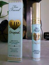 TOO FACED Lip Insurance Lip Primer ORIGINAL 0.15oz Full SZ BNIB w/Receipt