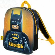 Lego Movie 2 Batman Junior Backpack for Kids 3D School Bag Superhero. Brand New