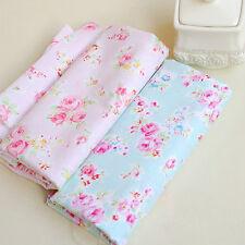 2PCS 50x50cm cotton diy patchwork fabric Quilting tissue craft doll cloth tecido
