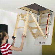 70x120 FAKRO Timber Folding Loft Ladder & Hatch - FREE POSTAGE