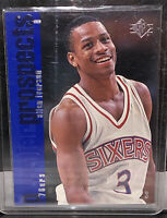 1996-97 Upper Deck SP Allen Iverson 76ers #141 Rookie Card