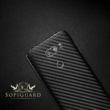 SopiGuard Carbon Fiber Vinyl Skin Back Side Sticker Wrap for LG V30